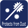 Protects from Dust