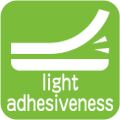 light adhesiveness